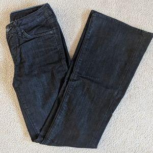 Buffalo Stretch Flare Black Jeans